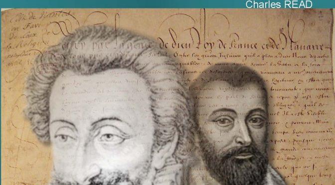 <h4>Henri IV et Daniel Chamier</h4> par Charles Read