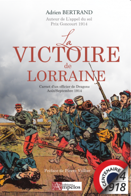 <h4>La victoire de Lorraine,</h4> par Adrien Bertrand
