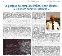 Extrait recension Courrier d'Aix Manen Abime