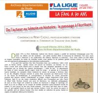 Cazals Puech Archives de l'Aude