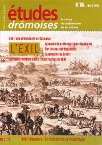 Etudes Dromoises n°65