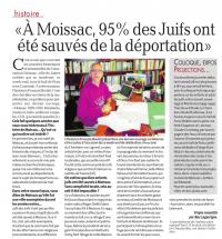 Boulet Moissac La dépêche  27 mai