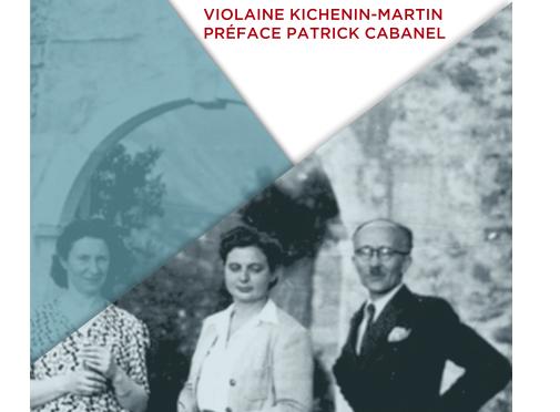 <H4>Jacques Martin, objecteur de conscience, Juste et résistant,</H4>par Violaine Kichenin-Martin