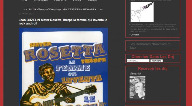 Rosetta dans les Dernières nouvelles du Jazz