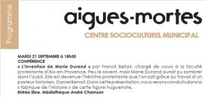 Marie Durand réinventée