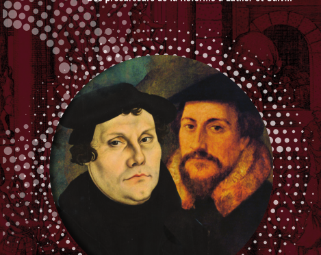 <h4>L'Europe bouleversée, des précurseurs de la Réforme à Luther et Calvin, </h4>par Nicole Vray