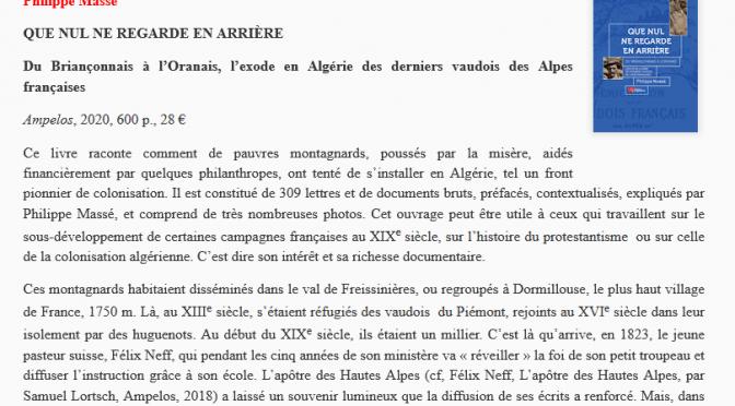Libre Sens vers l'Algérie