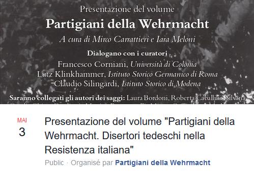 Werner Goll à la radio italienne