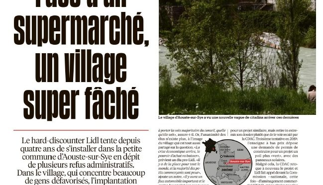 Libé dans la Drôme