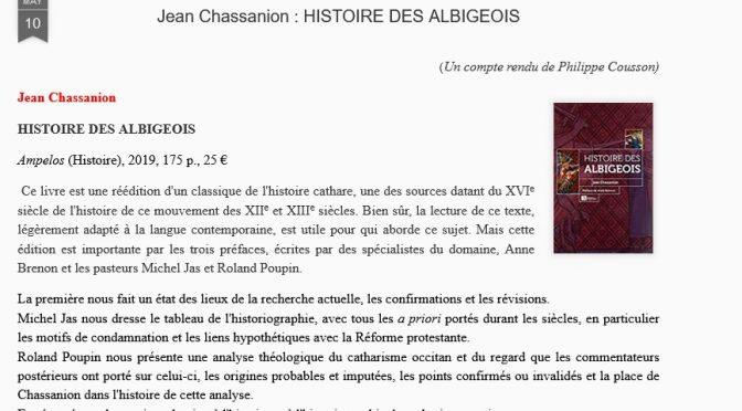 Les Albigeois dans Libre Sens