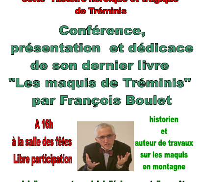 14 juillet à Tréminis