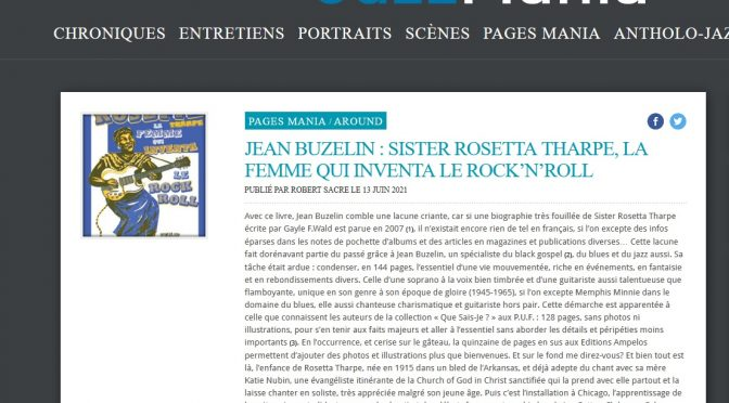 Rosetta dans JazzMania